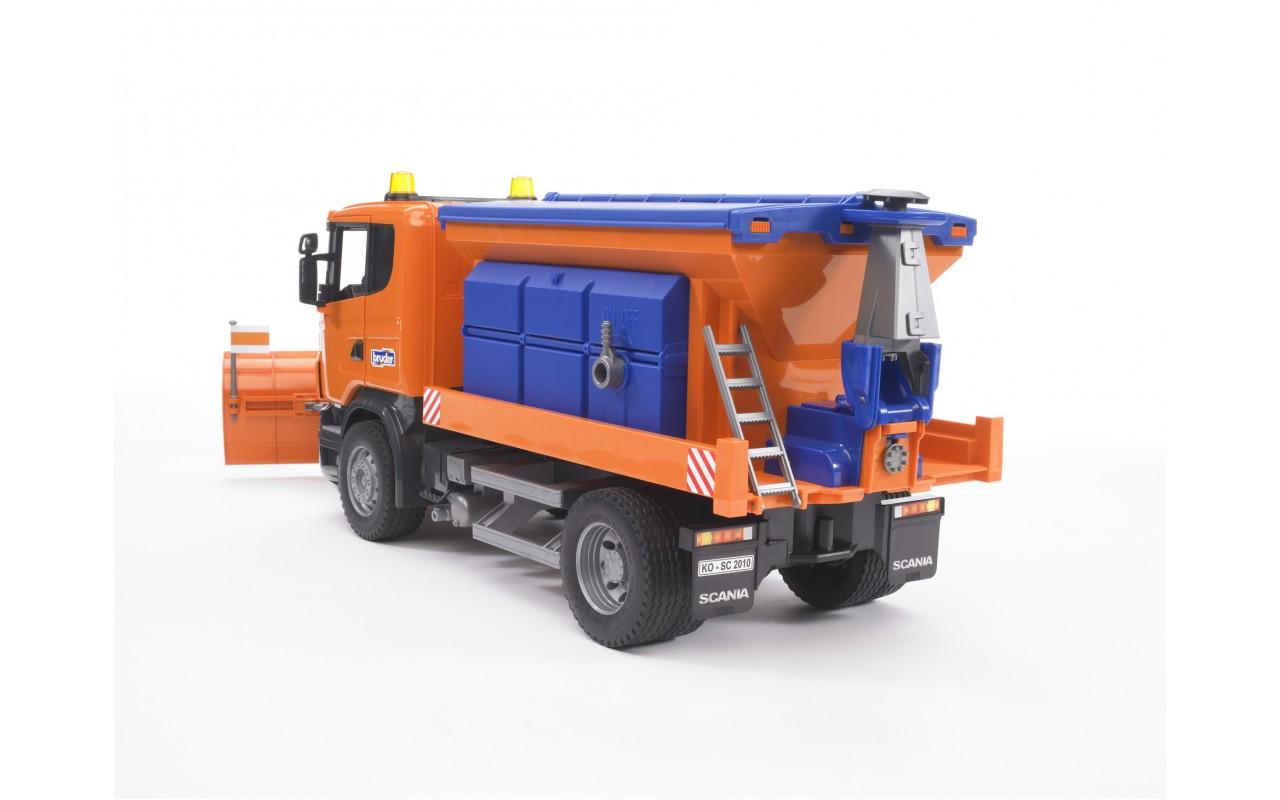 Машина Bruder Scania мусоровоз Orange 03-560