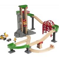 Игровой набор BRIO Погрузочный пункт с лифтом (33887)