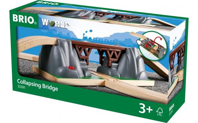 Падающий мост для железной дороги BRIO (33391)