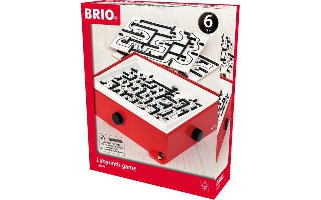 Дерев'яна настільна гра BRIO Лабіринт з додатковими рівнями (34020)