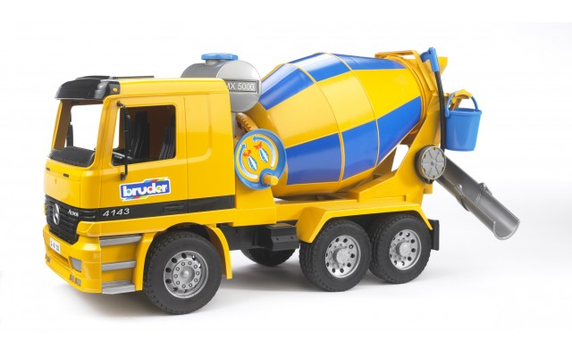 Іграшка бетоновоз Mercedes Benz Bruder 01665