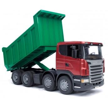 Іграшка самоскид Scania Bruder 03550