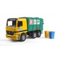 Іграшка сміттєвоз Mercedes Benz Bruder 01677