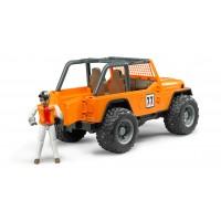 Іграшка позашляховик Jeep Cross з водієгонщикомм Bruder 02542