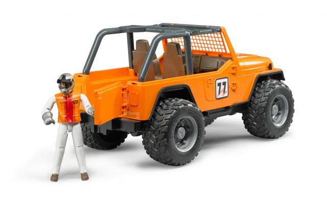 Игрушка Bruder внедорожник Jeep Cross с водителем (02542)