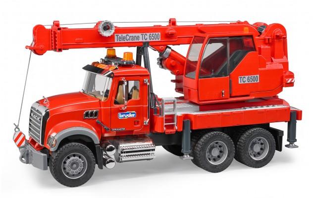 Игрушка Bruder пожарный кран MACK (02826)