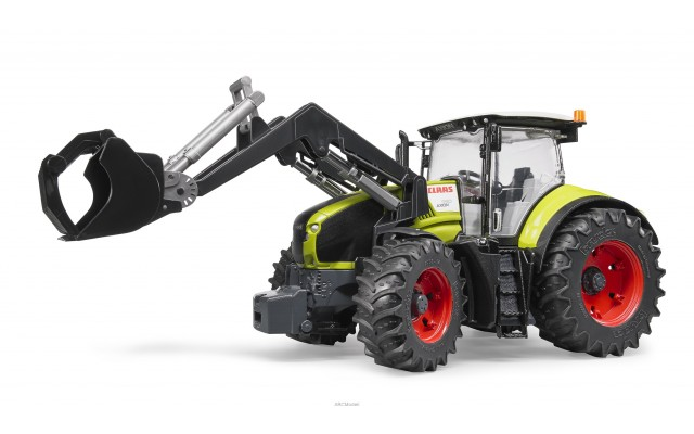 Игрушка Bruder трактор Claas Axion 950 с погрузчиком (03013)