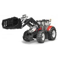 Игрушка Bruder трактор Steyr CVT 6300 с погрузчиком (03181)