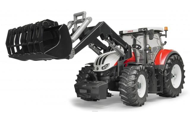 Іграшка трактор Steyr CVT 6300 з навантажувачем Bruder 03181