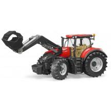 Игрушка Bruder трактор Case Optum 300 CVX с погрузчиком (03191)