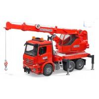 Іграшка пожежний кран Mercedes Arocs Bruder 03670