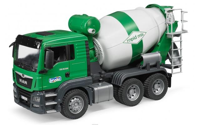 Іграшка бетоновоз MAN TGS Bruder 03710