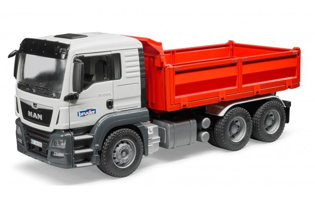 Іграшка самоскид для будівництва MAN TGS Bruder 03765