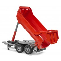 Игрушка Bruder прицеп самосвал для грузовиков Halfpipe (03923)