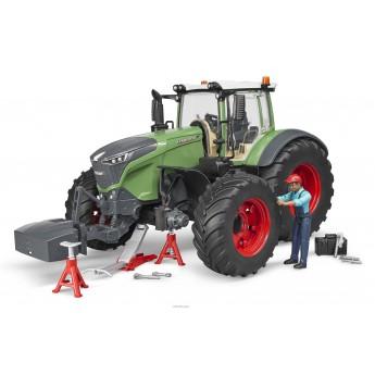 Іграшка трактор Fendt 1050 Vario з водієм і та інструментами Bruder 04041