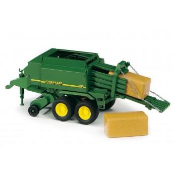 Іграшка прес-підбирач John Deere Bruder 02017