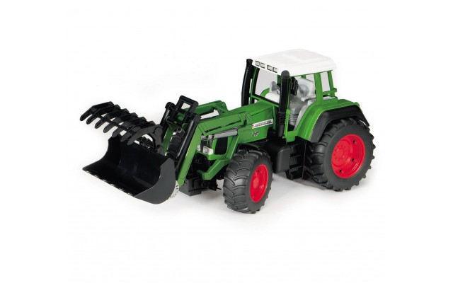 Игрушка Bruder трактор Fendt Favorit 926 Vario с погрузчиком (02062)