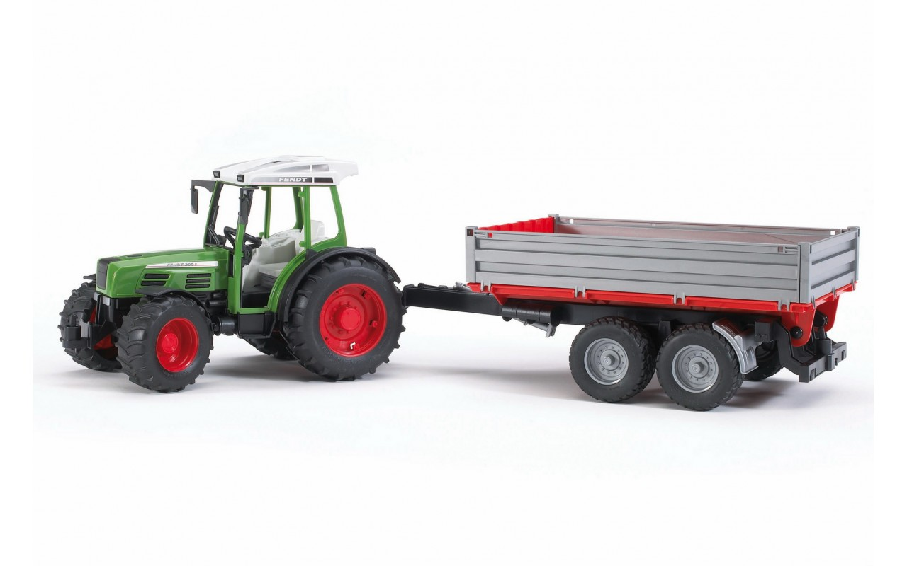 Іграшка трактор з причепом Fendt 209 S Bruder 02104