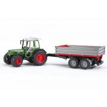Игрушка Bruder трактор Fendt 209 S с прицепом (02104)