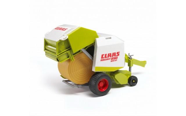 Игрушка Bruder рулонный пресс-подборщик Claas Rollant 250 (02121)