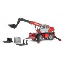 Іграшка навантажувач телескопічний Manitou MRT 2150 з ковшем Bruder 02129