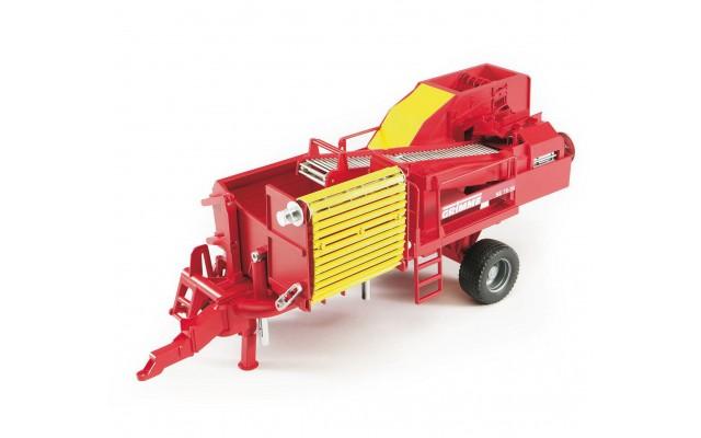 Іграшка картоплезбиральний комбайн Grimme SE75-30 Bruder 02130