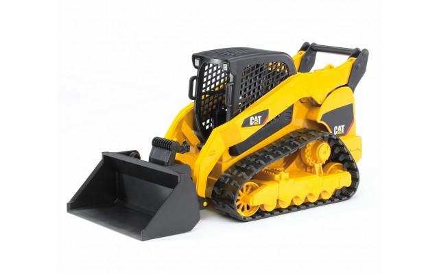 Іграшка гусеничний міні-навантажувач CAT з ковшем Bruder 02136