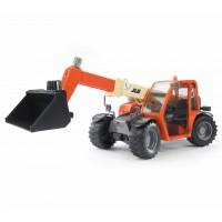 Іграшка навантажувач телескопічний JLG 2505 Telehandler з ковшем Bruder 02140