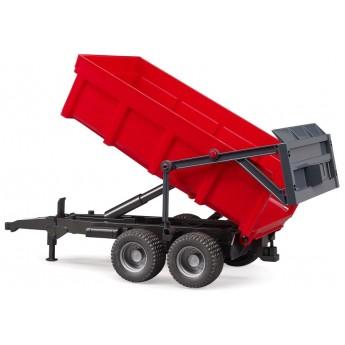 Іграшка Bruder причіп-самоскид для трактора (02211)