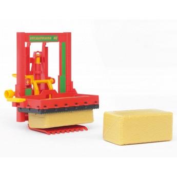 Іграшка Siloblockschneider з тюками Bruder 02333