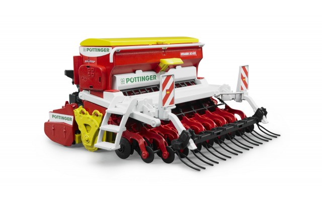 Игрушка Bruder сеялка Pottinger Vitasem 302ADD (02347)