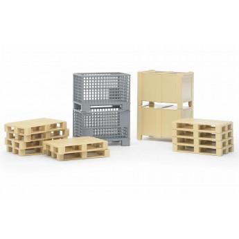 Набір: ящики, піддони, коробки Bruder 02415