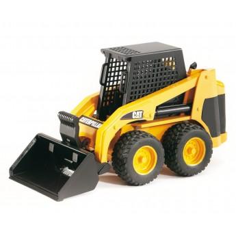 Игрушка Bruder мини-погрузчик колёсный CAT с ковшом (02431)