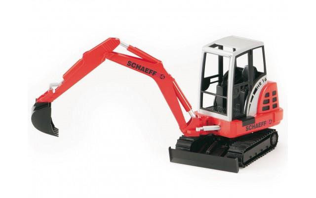 Игрушка Bruder мини-экскаватор гусеничный Schaeff HR16 (02432)