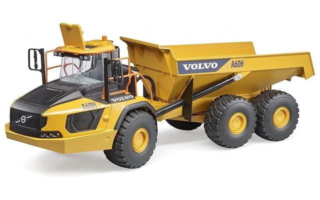 Игрушка Bruder самосвал строительный Volvo A60H (02455)