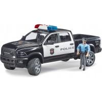 Игрушка Bruder Полицейский пикап RAM 2500 с фигуркой полисмена (02505)