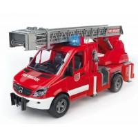 Игрушка Bruder Mercedes Sprinter пожарная машина с лестницей и помпой (свет и звук) (02532)