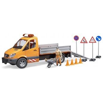 Іграшка Bruder машина дорожньої служби Mercedes (02537)