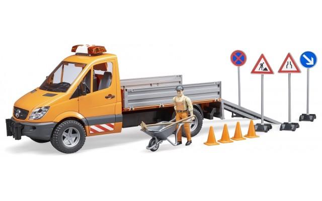 Игрушка Bruder машина дорожной службы Mercedes (02537)