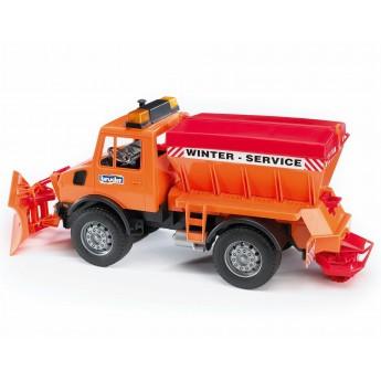 Іграшка снігоприбиральна машина Mercedes Benz Bruder 02572