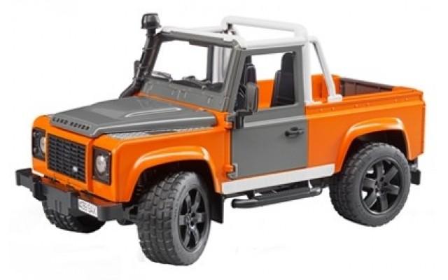 Игрушка Bruder внедорожник-пикап Land Rover Defender (02591)