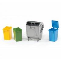 Набір сміттєвих баків Bruder 02607
