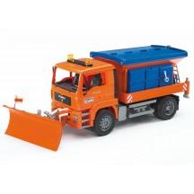 Игрушка Bruder снегоуборочная машина MAN (02767)