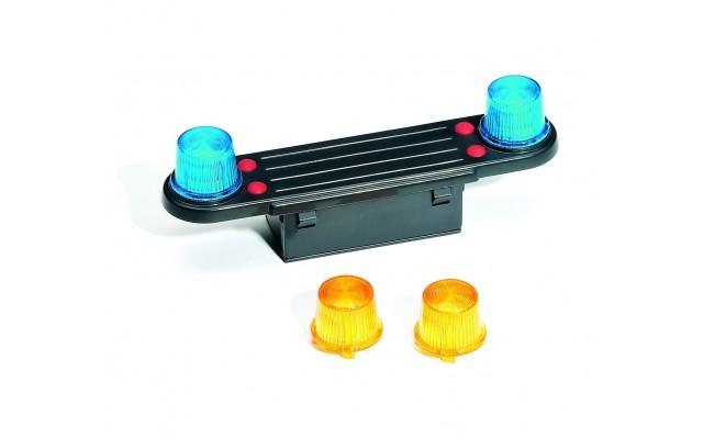 Модуль мигалка (свет и звук) для автомобилей Bruder (02801)