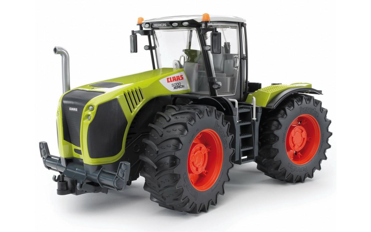 Игрушка Bruder трактор Claas Xerion 5000 с поворачивающейся кабиной (03015)
