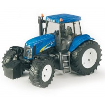 Игрушка Bruder трактор New Holland T8040 (03020)