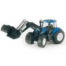 Іграшка трактор з навантажувачем New Holland T8040 Bruder 03021