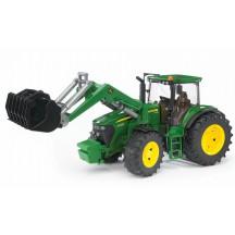 Іграшка трактор з навантажувачем John Deere 7930 Bruder 03051