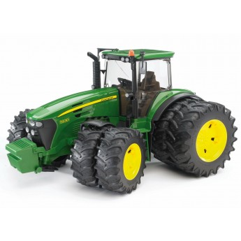 Іграшка трактор John Deere 7930 на спарці Bruder 03052