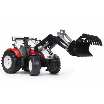 Іграшка трактор з навантажувачем Steyr CVT 6230 Bruder 03091
